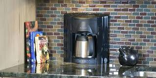 Brew Express Built In Wall Coffee Maker Be System