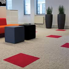Soft Step Carpet Tiles by All Ranges Gibbon Group Architectural
