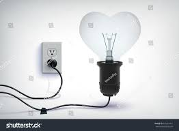 realistic concept realistic wired light stock vector