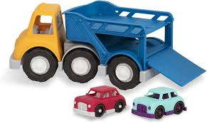 100 Toy Car Carrier Truck Wonder Wheels By Battat Rier With 2 S For Toddlers Aged 1 Up 3Pc 100 Recyclable