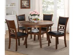 Gia Dining Table And Chair Set With 4 Chairs And Circle Motif By New  Classic At Dunk & Bright Furniture Argos Home Lido Glass Ding Table 4 Chairs Black Winsome Wood Groveland Square With 5piece Ktaxon 5 Piece Set4 Chairsglass Breakfast Fniture Crown Mark Etta And Bench 22256p Hesperia Casual Drop Leaves Storage Drawer By Coaster At Value City Braden Set Includes Morris Furnishings Tall Ding Table Chairs Height Canterbury Ekedalen Dark Brown Orrsta Light Gray Cascade Round Kincaid Becker World Costway Metal Kitchen