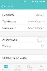 Sync in background does not work Fitbit munity