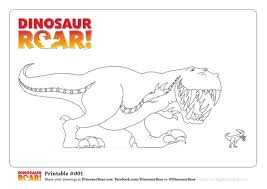 Dinosaurs For Kids Dinosaur Colouring Pages Coloring Free Roar