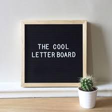 2019 2018 New Creative Message Board Felt Letter Board Wooden Felt