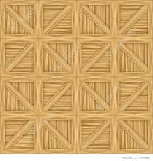 Abstract Patterns A Wooden Crate Illustration That Tiles Seamlessly As Pattern