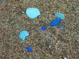 Beach Glass Bath Accessories by Glass Bulk Blue Sea Glass Vases Blue Sea Glass Bathroom