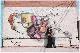 Deep Ellum Mural Locations by Engagement Photographer Dallas Alexm Photography