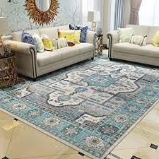 de cosy l vintage teppich ornamente bunt mehrfarbig