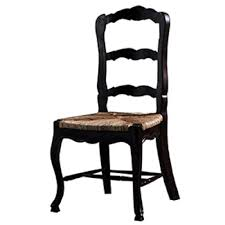 French Country Ladderback Dining Chair Set Of 6 Black Distressed ... Guy Chaddock Melrose Custom Handmade Fniture Cf0485s Country French Ding Chairs With Ladder Back And Rush Seats Antique Farm Carved Tall Seat Room Set Of 6 Provincial In Walnut 10 Louis Xv Style Oak Leather Nailhead Recliner Chair Vintage White Of Four Six Xiv Ladderback Scalloped Stretchers Inspire Q Eleanor Wood 2 By Dec 16 2018