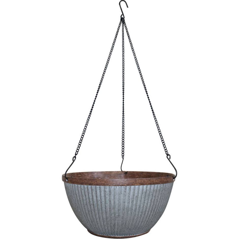 Southern Patio HDR-054801 Westlake Hanging Basket Planter - 12""