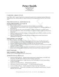Security Officer Resume Objective Guard Examples Bank Sample Entry Level