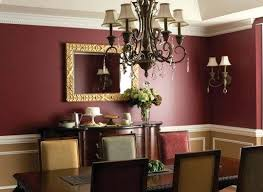 Dining Room Colors Great Red Color Ideas With Best Rooms On Long Walls Kitchen