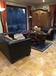 2x lounge kolonialstil ledersofa weiches leder