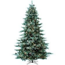 9 Ft Pre Lit Pencil Christmas Trees by National Tree Company 9 Ft Feel Real Tiffany Fir Slim Hinged