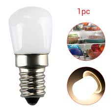 1pc e14 e12 2w refrigerator freezer led light appliance l