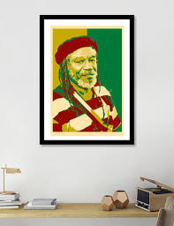 100 Pop Art Home Decor Horace Andysleepyreggaemusicpop Artposterwall Arthome Decorgreen And Red