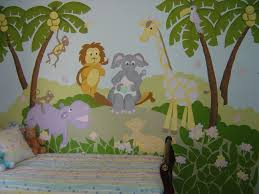 Wall Mural Decals Canada by Wall Ideas Jungle Wall Mural Pictures Jungle Wall Stencils Uk