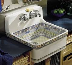 Kohler Gilford Scrub Up Sink by Good Example Of How To Place Counters Next To These Wall Hung Farm