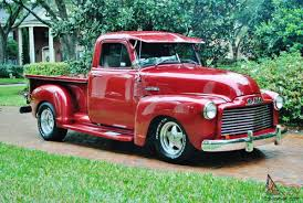 100 1953 Gmc Truck Fully Restored Frame Off Pick Up Up Graded V 8 P Sp B