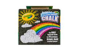 Crayola Washable Anti-Roll Sidewalk Chalk, 24 Count - Walmart.com