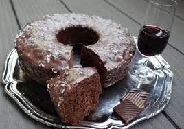 rotweinkuchen mit zartbitterschokolade saftig und lecker