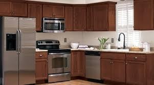 Kitchen Cabinets Ideas Fair Menards Unfinished Throughout Plan 17