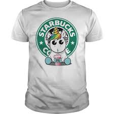 Unicorn Drink Starbucks Coffee Shirt