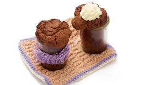 glutenfreie schokoladekuchen im glas
