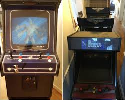Mortal Kombat Arcade Cabinet Plans by Bas Arcade Cabinet Restoration Retro Games Now