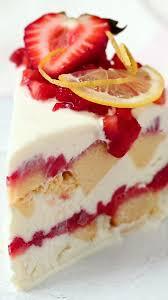 Strawberry Lemonade Icebox Cake Recipe