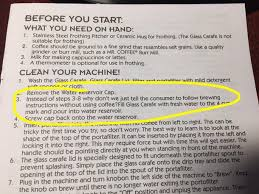The Instructions For A Mr Coffee Espresso Machine Might Be Looking New