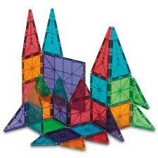 magna tiles clear colors 100 piece set