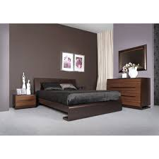 ensemble chambre complete adulte chambre adulte bois tacapa lit 140 ou 160 chevet 2 tiroirs