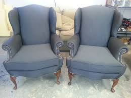 Grey Upholstered Dining Chairs With Nailheads by Furniture Leather Recliner With Nailhead Trim Nailhead Trim
