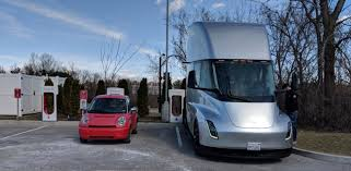 Tesla Semi Electric Truck Spotted All The Way In St-Louis At A ... Intertional 4700 Lp Crew Cab Stalick Cversion Hauler Sold Pin By Todd Gratson On Trucks And Big Rigs Pinterest Car Trailer For Sale Near Me Luxury Rv Haulers Google Search Show Rvs For 26 Rv Trader Custom Kenworth Motorhome Youtube Smart 2011 Volvo Semi Truck Hdt S Electric Motorhomes Are Coming A New Powered Solar Panels Morning Star Park Home Nw Detailing Boat Detailers In Sumner 1000mile Tires Dualies Diesel Power Magazine Wash California Best Semitruck Camper Campinstyle Trucks