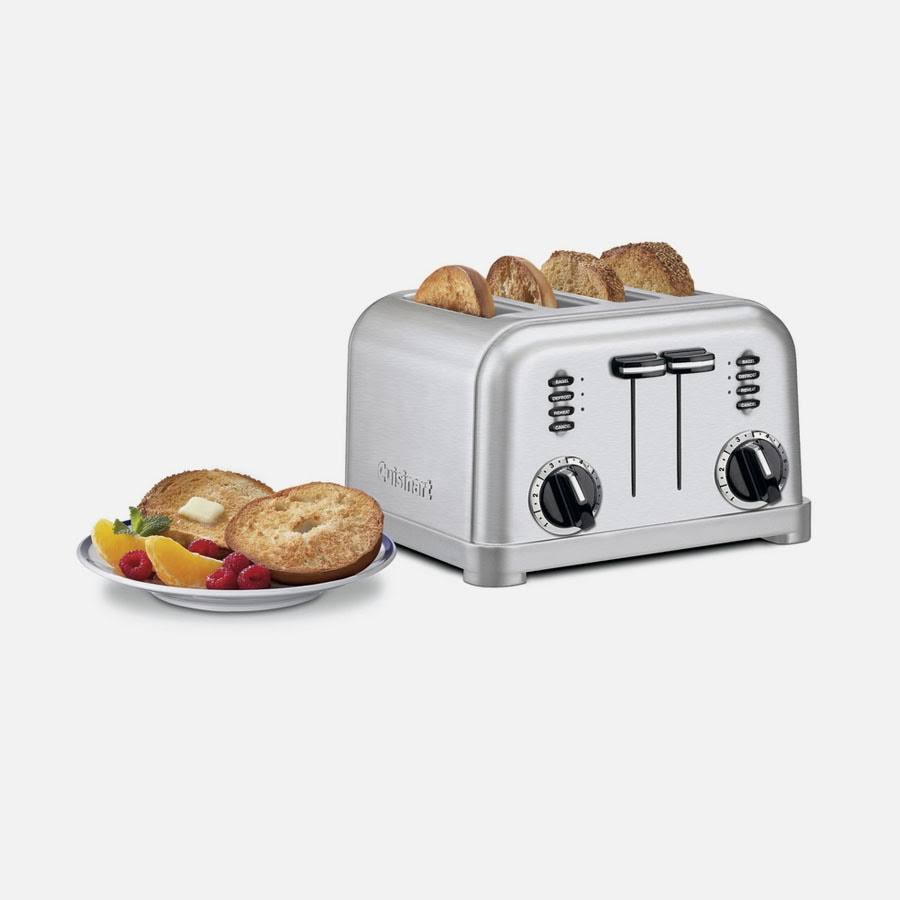 Cuisinart CPT-180MR Metal Classic Toaster - Metallic Red, 4 Slice