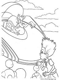 Bowler Hat Guy And Lewis Coloring Page