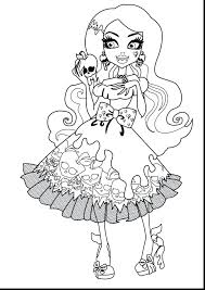 Monster High Coloring Page Printable Pages Abbey Draculaura Pictures And Clawd Full Size