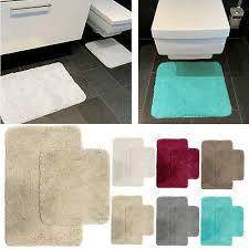 badzubehör textilien 2tlg set badezimmer badematten