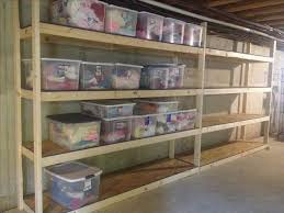 amazing design basement shelves build easy free standing shelving
