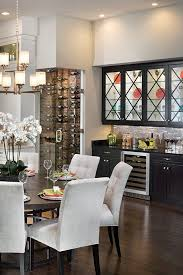 Dining Room Wall Cabinets This Luxury Kitchen Features A Wine Cabinet The Also