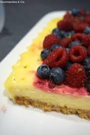 dessert avec mascarpone rapide cheesecake citron facile et rapide à base de mascarpone et fruits