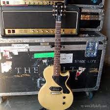 Gibson Les Paul Junior TV Yellow Billy Duffy