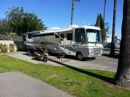 San Diego RV Resort Parking Space Side View