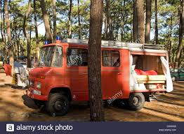 100 Fire Truck Sleeping Bag Engine Converted Into A Campervan Camping Ground In South