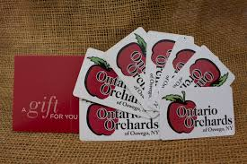 Apple Pumpkin Picking Syracuse Ny by Traditional Ontario Orchards Gift Card Ontario Orchards