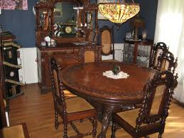 Dining Room Hand Carved Oak Table,1920's With Oak Buffet ... Marvellous High Ding Chairs Set Of 4 Astonishing Fniture Barley Twist Table Images Round Room Tables 1940s Vintage Or Kitchen Of Antique Edwardian Oak Draw Leaf Carved Pair Wood Throne Amazing Detail 1850 Twist Ding Room Table And 6 Chairs Renaissance At English Jacobean Chair Amazoncom Rustic Gate Leg For Its The Perfect Entertaing Family Friends