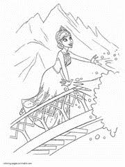 Queen Elsa Coloring Pages For Free