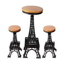Eiffel Tower Stool Table Set The Best Restaurants At Nearby The Eiffel Tower 80 Off Modernica Wire Chairs Amazoncom Ergo Furnishings Midcentury Conrad Grebel Montclair 7 Piece Ding Set With Boatshaped Oriental Fniture Waste Basket Seat Chair Household Modern Cafe White Table Delancey Gold On Rent Mw