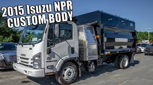 2015 Isuzu NPR Custom Commercial Trucks - YouTube